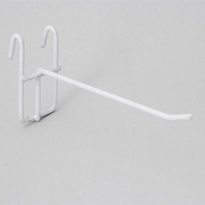 Крючок для решетки белый для оборудования магазина 210002